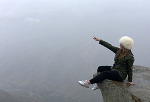 Блондинка на Кавказе: как выпускница МГУ возит туристов в Дагестан