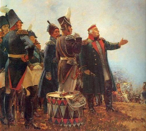 Бородинское сражение. Кутузов.