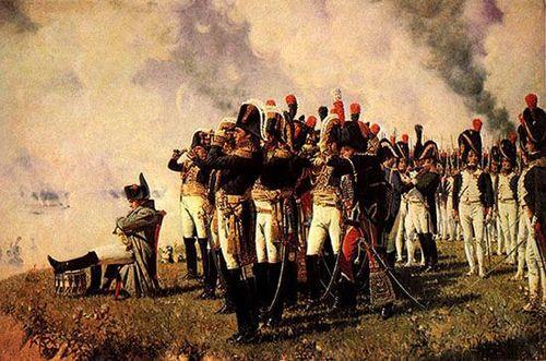 Бородинское сражение. Наполеон