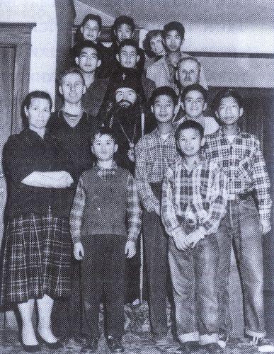Святитель Иоанн Шанхайский в приюте