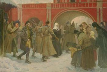 Филипп Москвитин: Арест Патриарха Тихона http://www.moskvitin.ru/