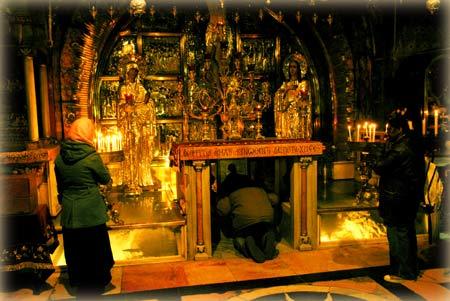 Голгофа. Храм Гроба Господня в Иерусалиме