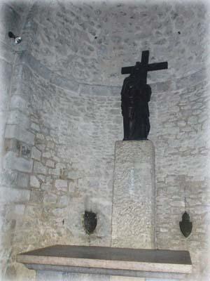 Подземный предел Обретения Креста в Храме Гроба Господня в Иерусалиме