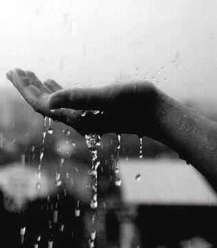 Дождь карандашом