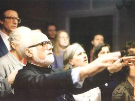 Михаил Фортунато на клиросе кафедрального собора в Лондоне