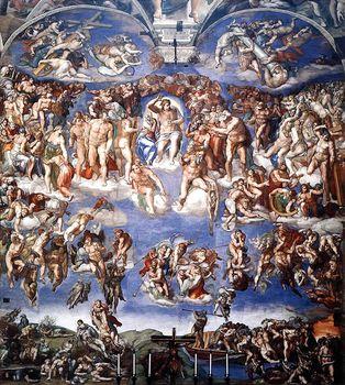 Страшный суд. Микеланджело