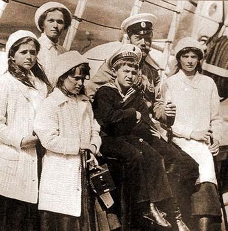 Император николай ii с детьми