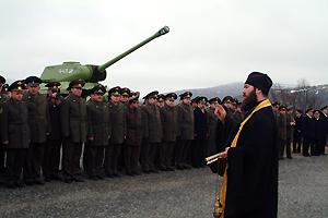 В Российской армии появятся штатные священнослужители